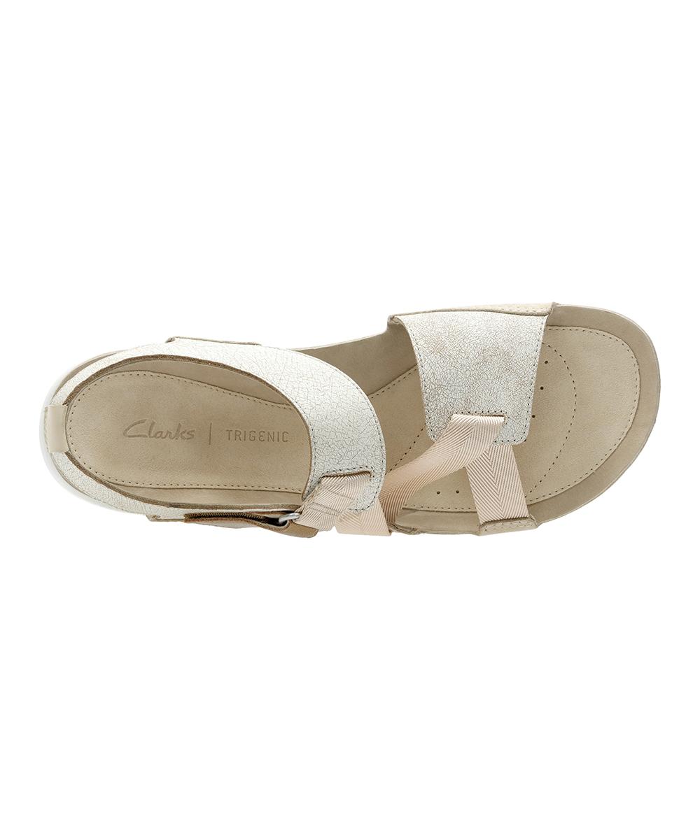d37e9756f3897 Clarks Sand Combi Tri Clover Leather Sandal - Women