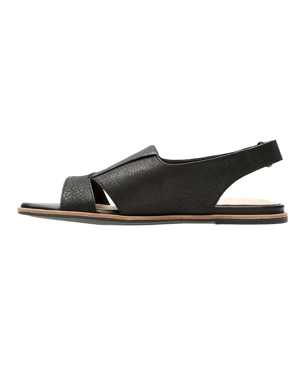 5dace89d822c ... Womens Black Leather Black Sultana Rayne Leather Sandal - Alternate  Image 3 ...