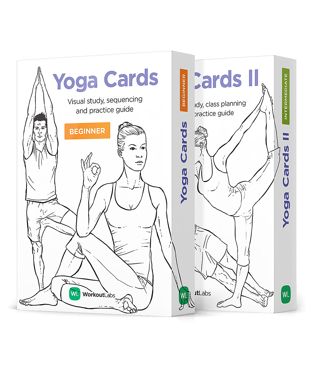 Yoga Cards I & II Set
