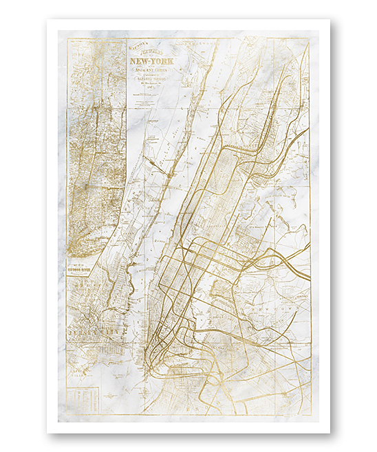 Alternative Nyc Subway Map.Oliver Gal New York Subway Map Print