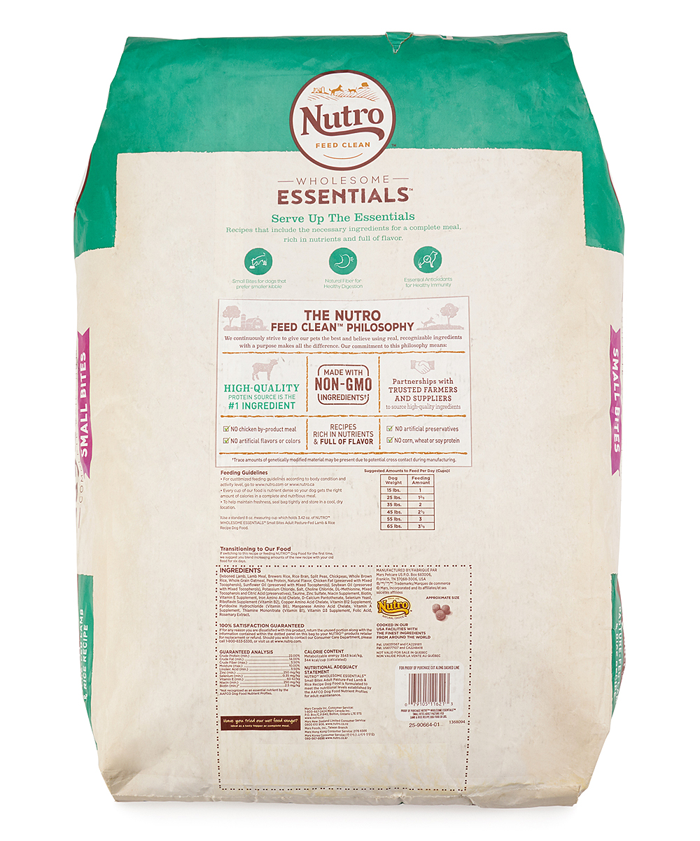 Boxed Nutro Small Bites Dog Food Zulily