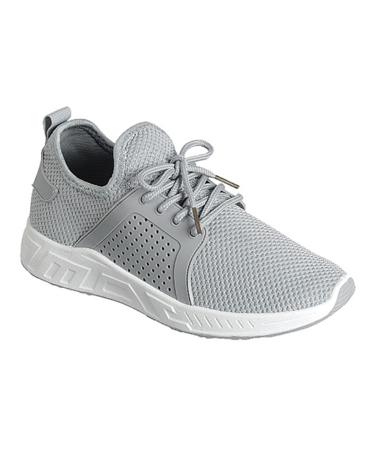 Forever Link Shoes Women's Sneakers GREY - Gray  Running Sneaker - Women