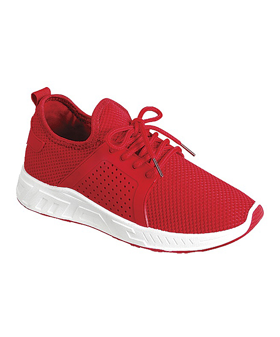 Forever Link Shoes Women's Sneakers RED - Red  Running Sneaker - Women