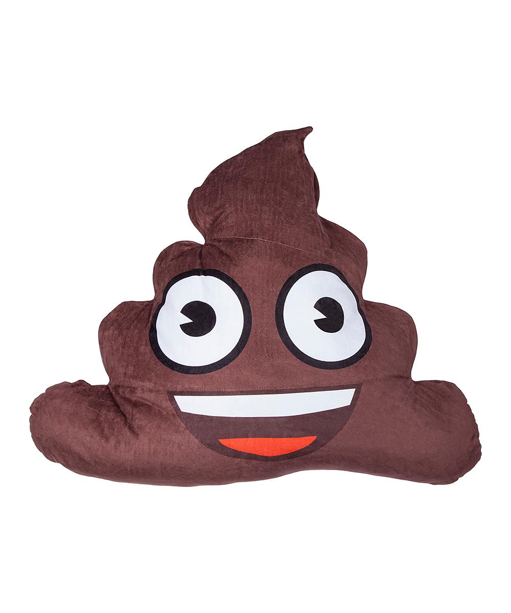 World Tech Toys  Stuffed Animals See - Poop Emoji Plush Toy