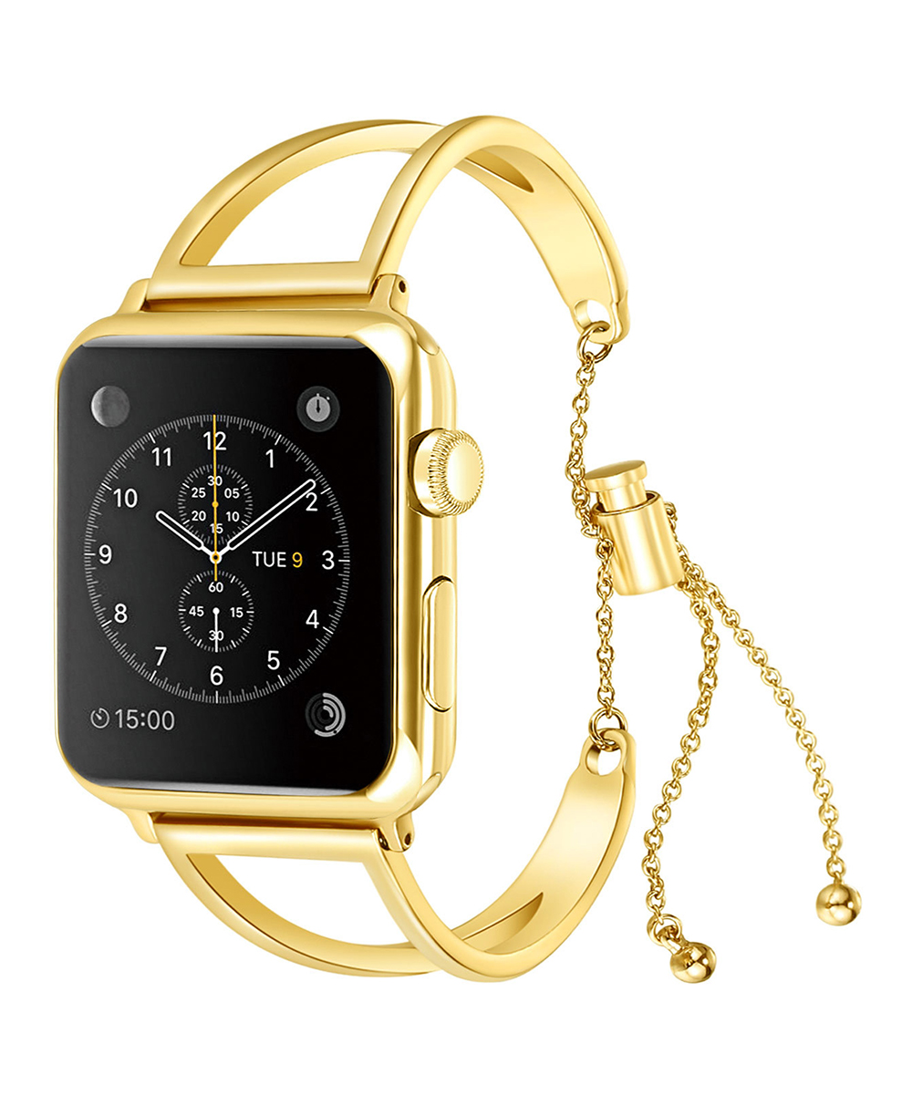 Epic Deals  Replacement Bands Gold - Goldtone Smartwatch Band for Apple Watch