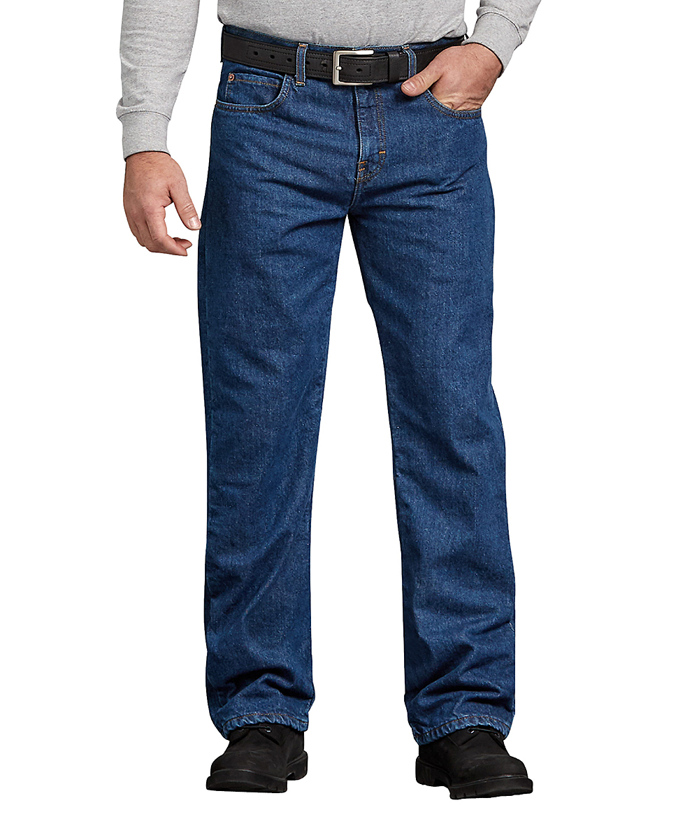 a9c6439f Dickies Medium Wash Relaxed-Fit Straight-Leg Jeans - Men | Zulily