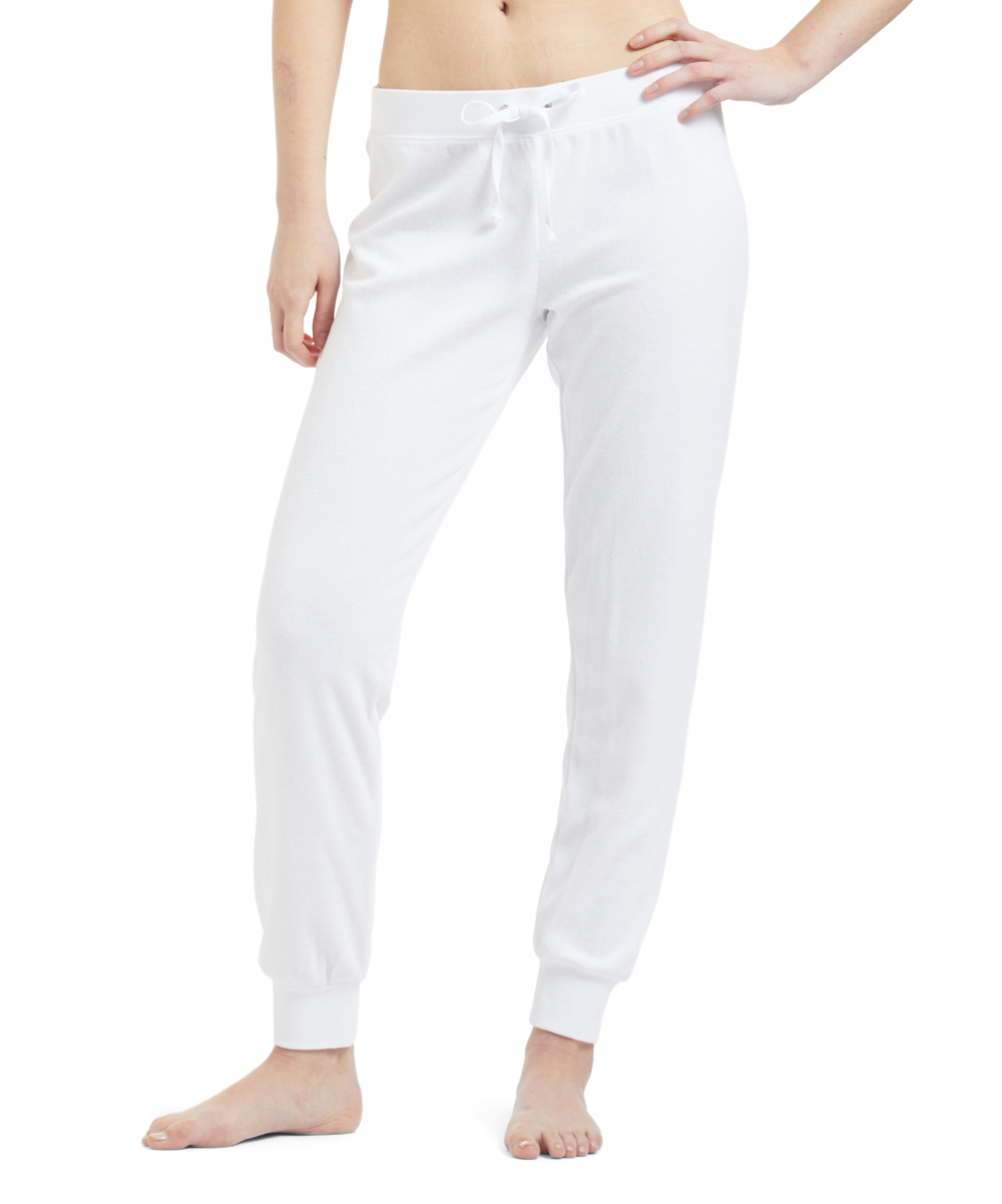 check out 81f10 b66c7 all gone. White Drawstring Joggers ...
