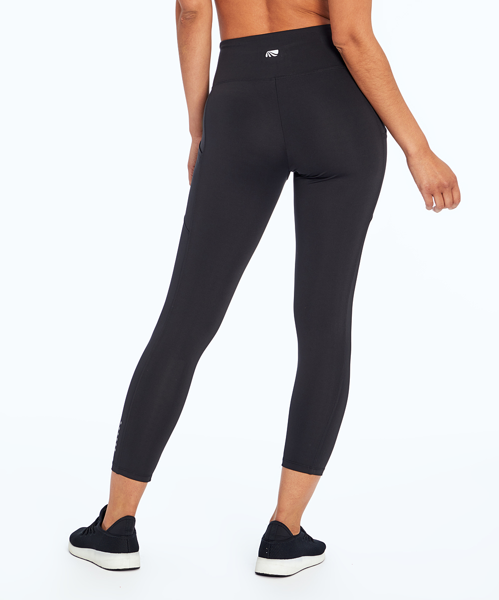 c7053501e46682 Marika Black Rebound Crop Leggings - Women | Zulily