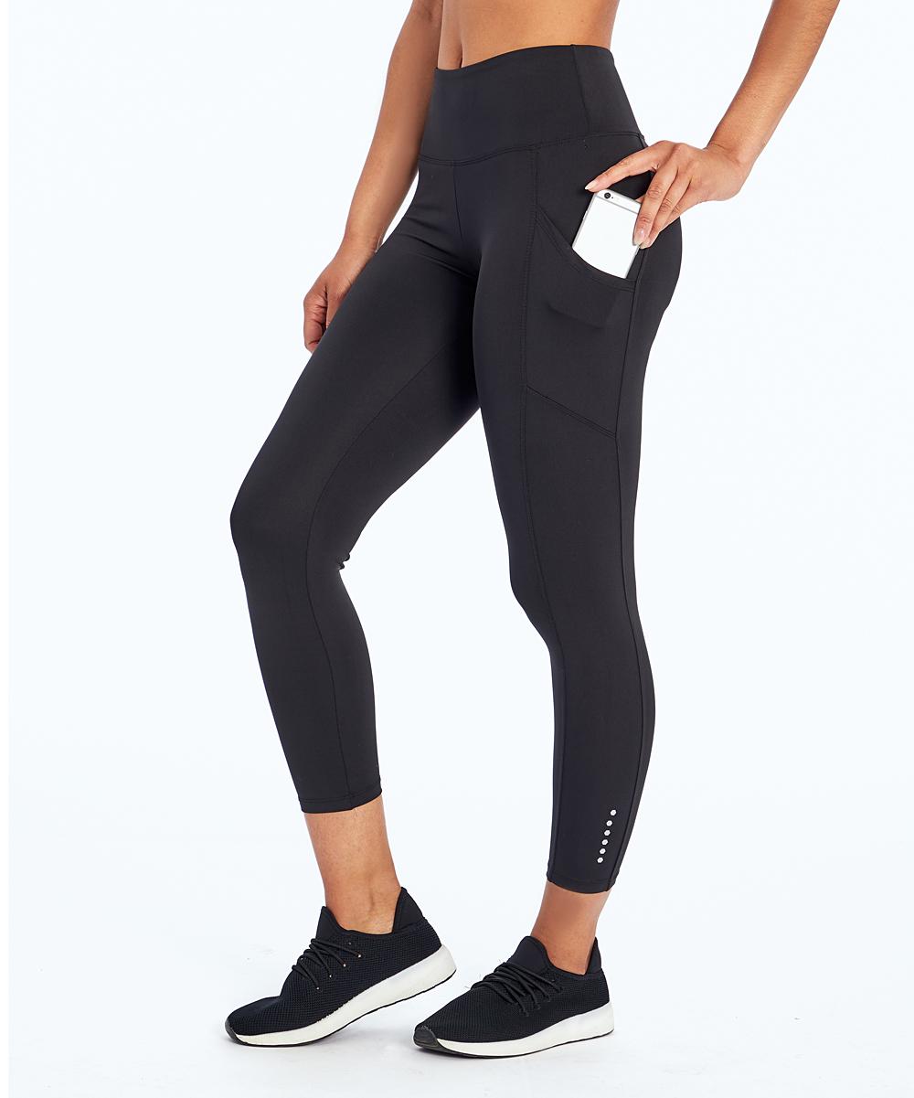 572338ef817b41 Marika Black Rebound Crop Leggings - Women   Zulily
