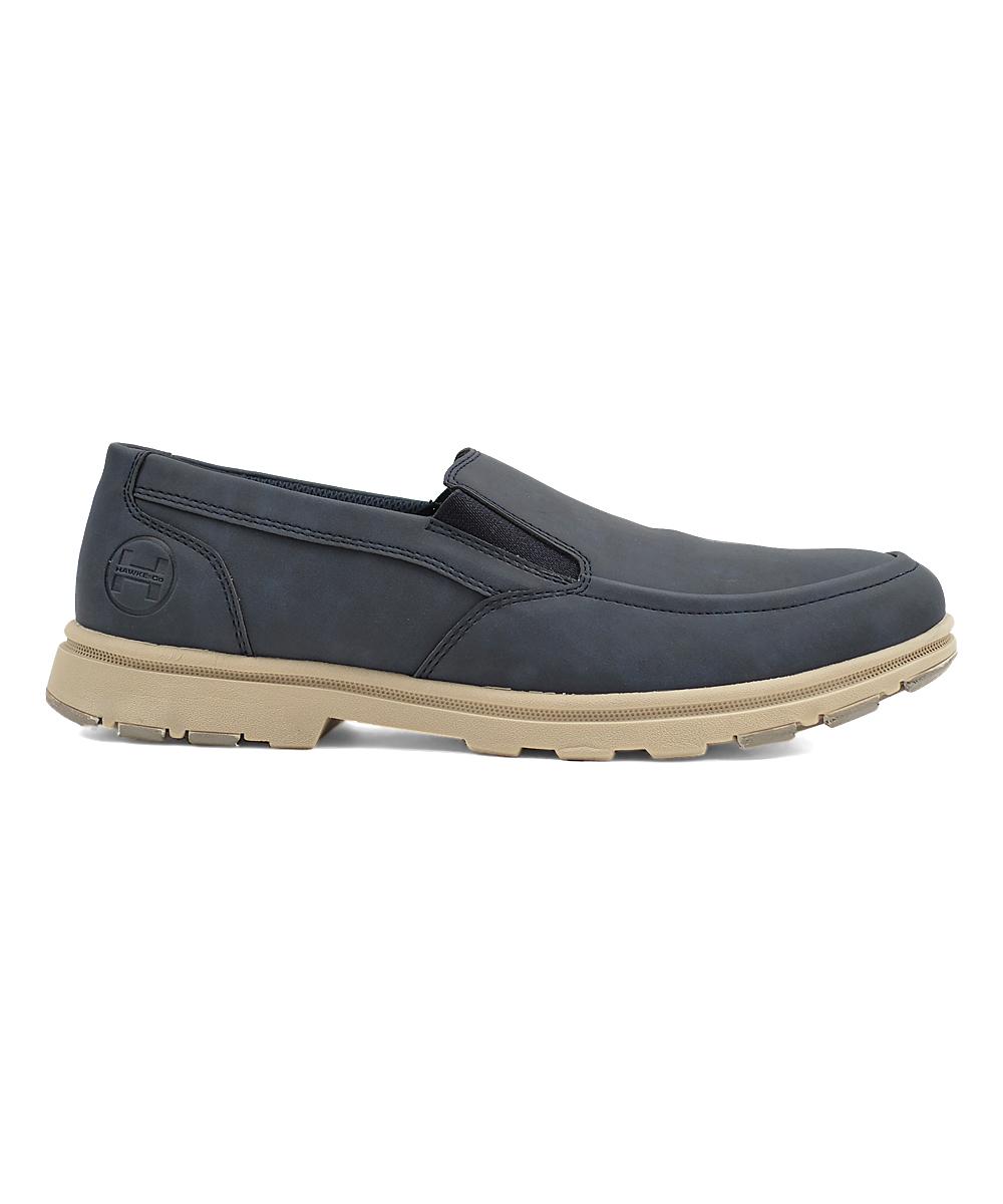 Hawke & Co. Men's Sneakers NAVY - Navy Hudson Slip-On Sneaker - Men