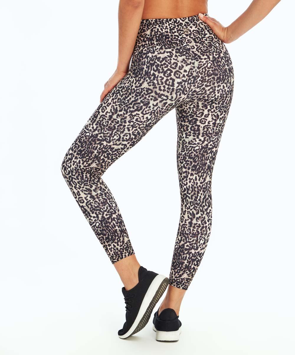 3c19e99e429264 ... Womens CINDER CHEETAH P3085-1 Cinder Cheetah High-Waist Capri Leggings  - Alternate Image