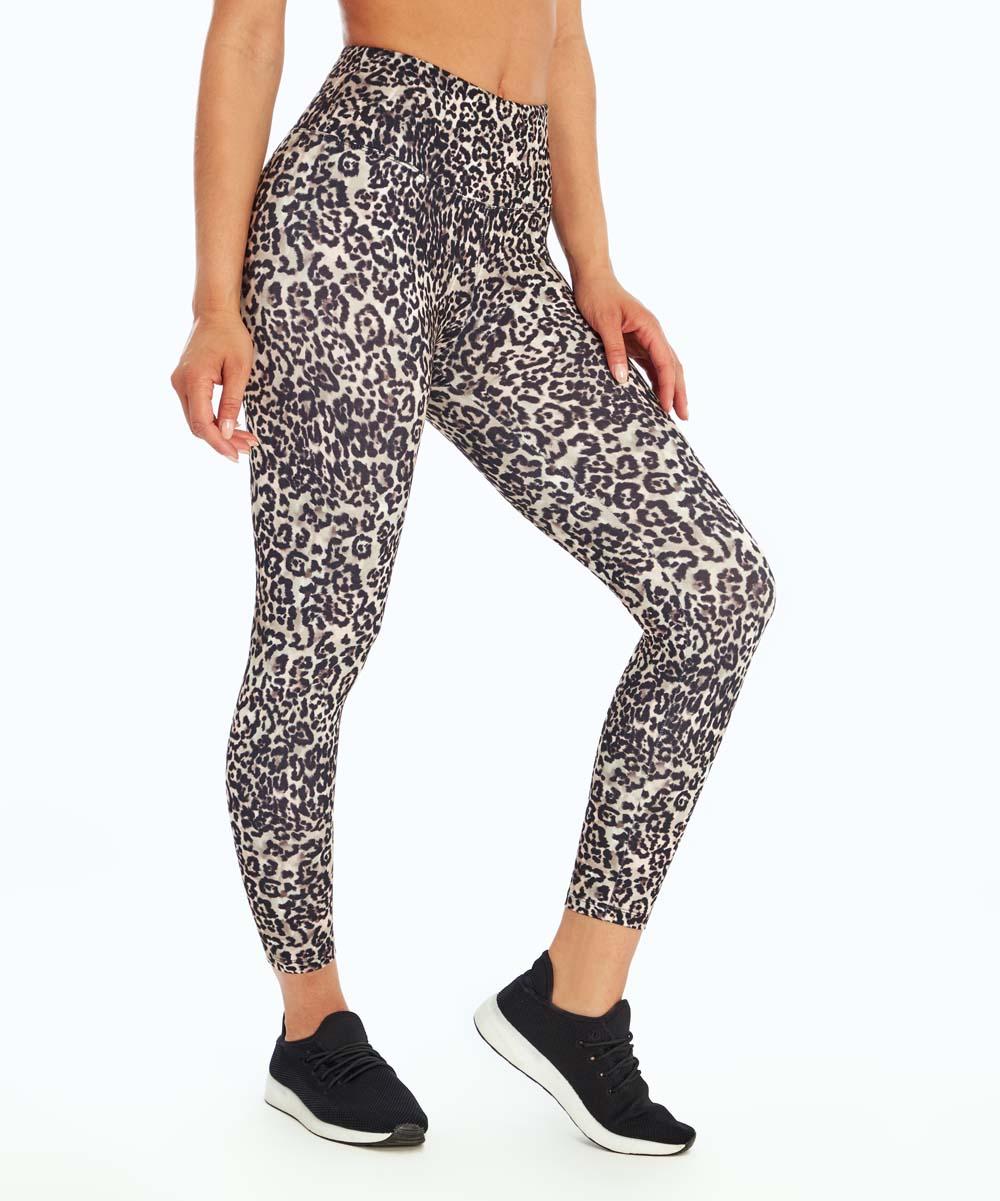 162340f2708aef Balance Collection Cinder Cheetah High-Waist Capri Leggings - Women ...