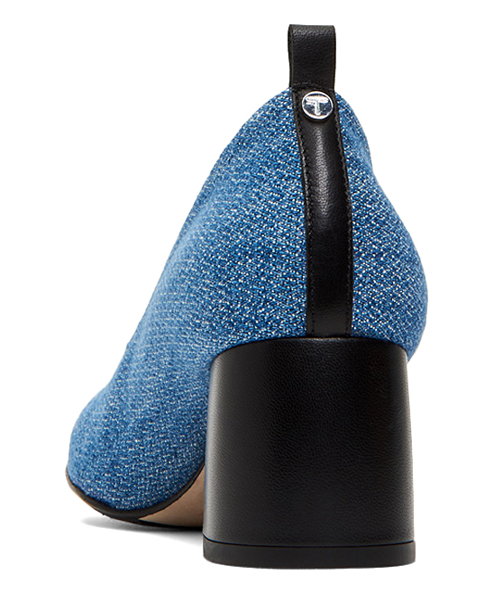 09e23a25fef5 ... Womens BLUE BLACK Denim Ciana Pump - Alternate Image 5
