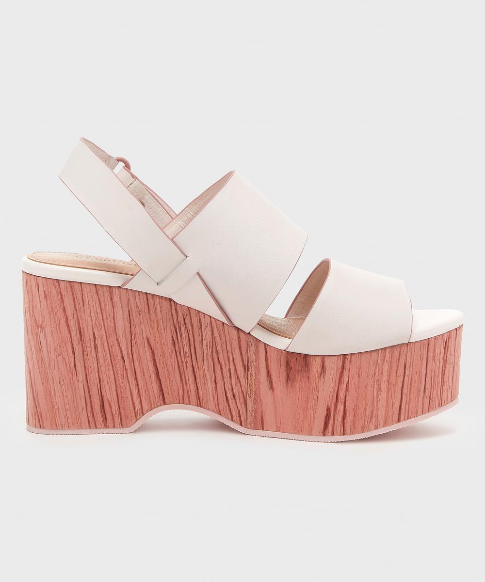 fb1c184bfd6 ... Womens OFF WHITE Off-White Nash Platform Leather Sandal - Alternate  Image 3 ...