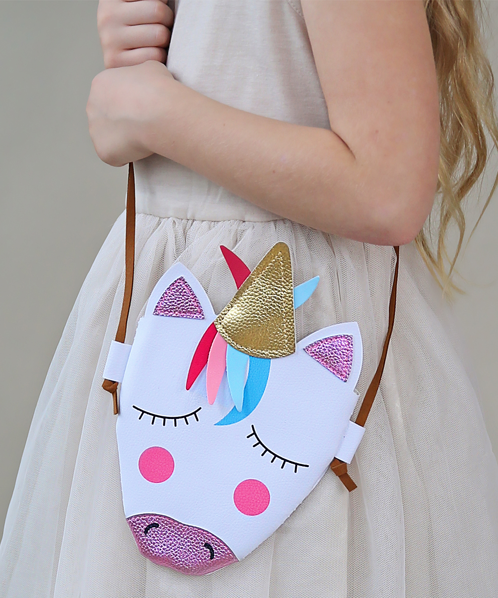 248db236b7 Whitney Elizabeth Unicorn Head Crossbody Bag
