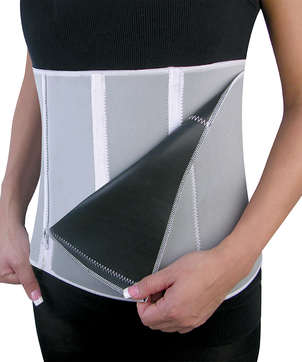 North American Health + Wellness   GREY - Waist Trainer