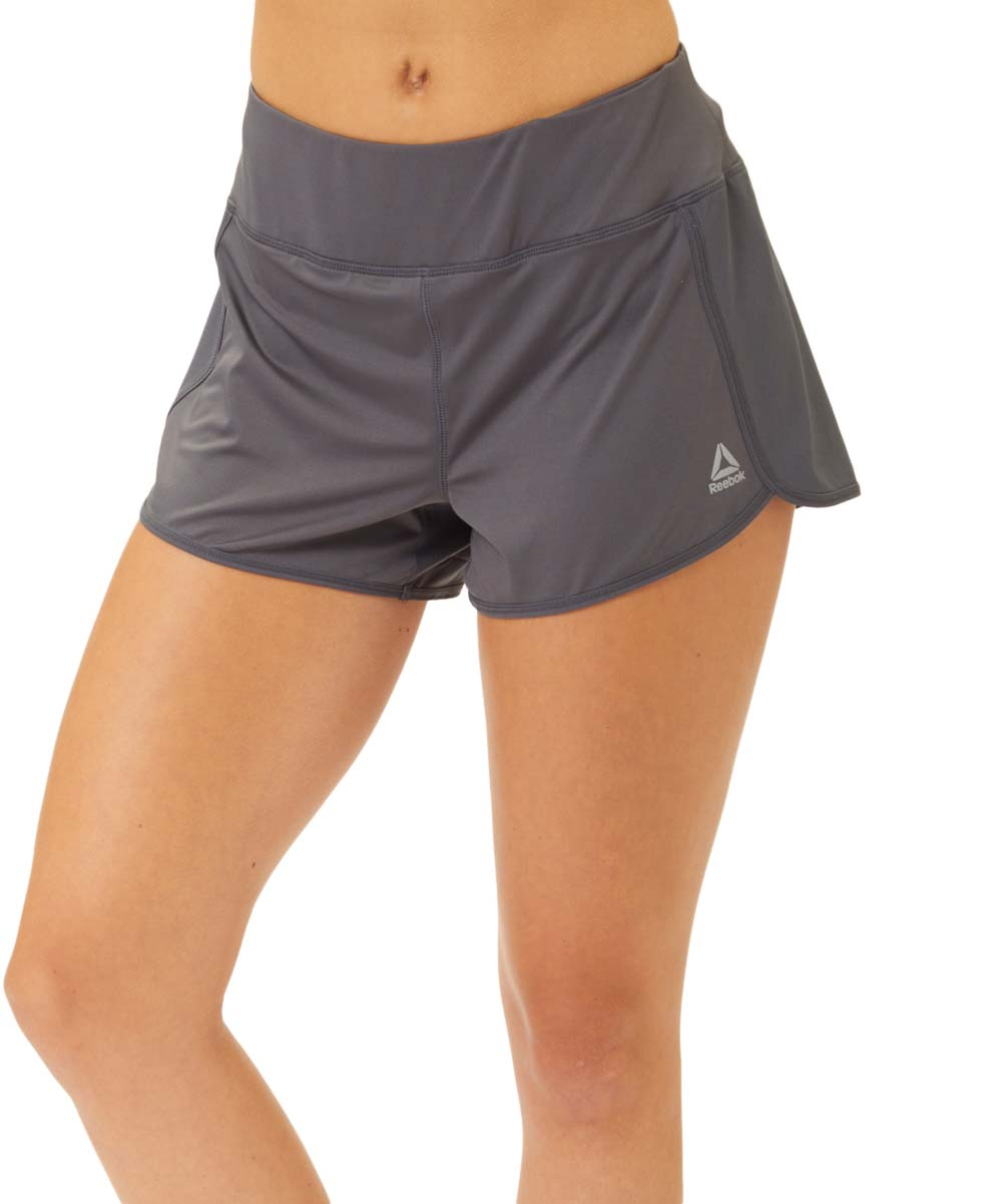 Medium Gray All Day Shorts - Women