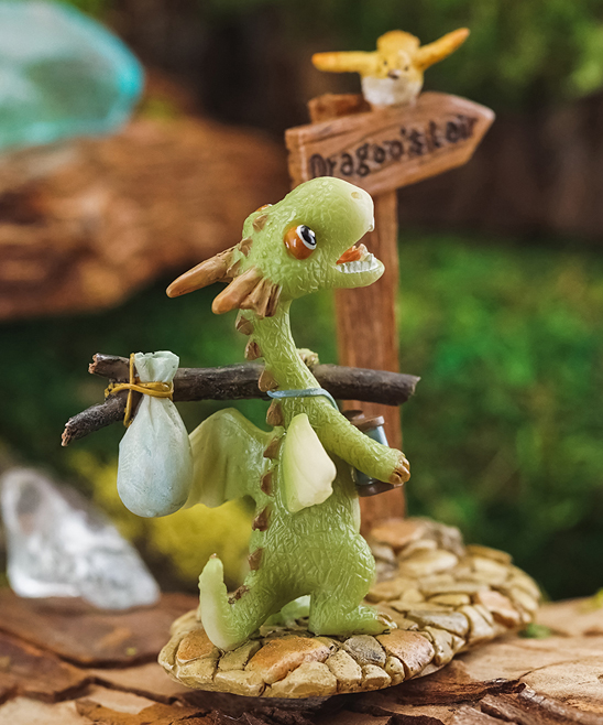 Top Collection Mini Dragon Scaley Off to The Dragons Lair Figurine