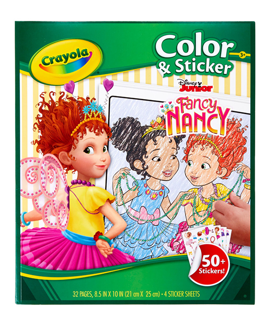 Fancy Nancy Coloring & Sticker Set