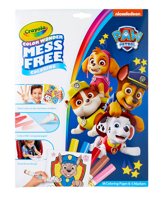 Paw Patrol Mess-Free Color Wonder Set