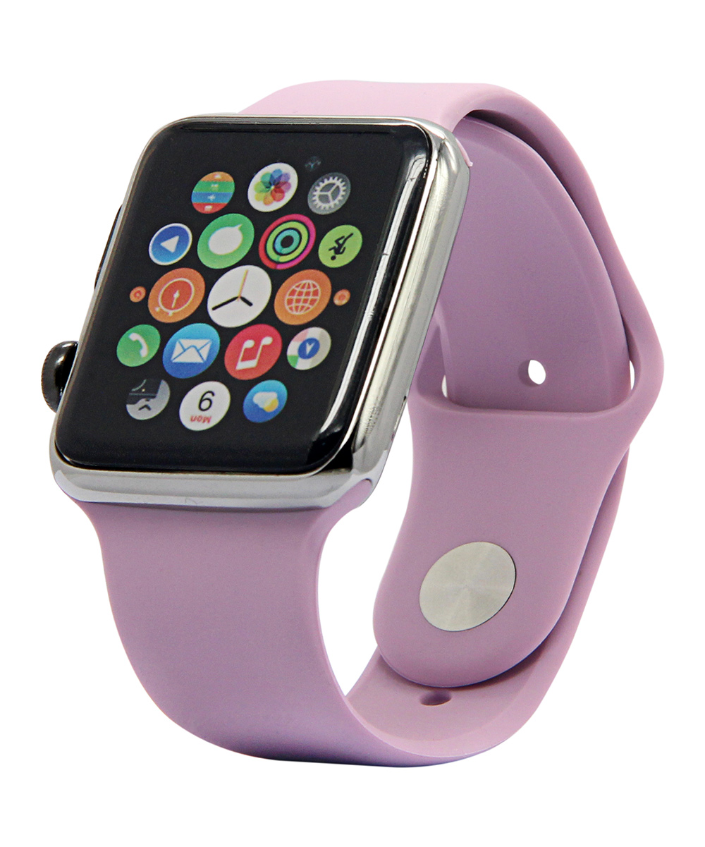 Lavender Apple Watch Silicone Sport Band