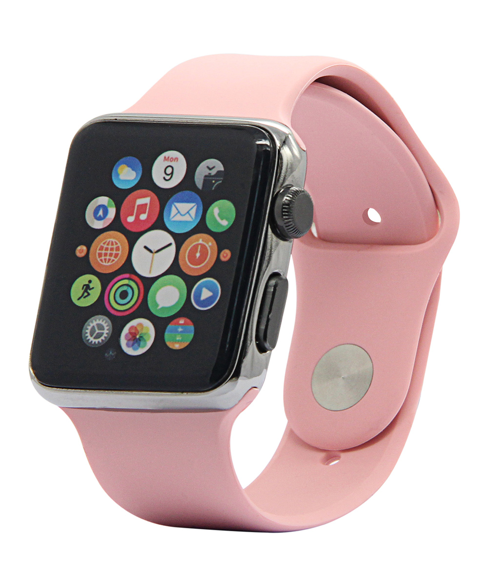 Vintage Rose Apple Watch Silicone Sport Band
