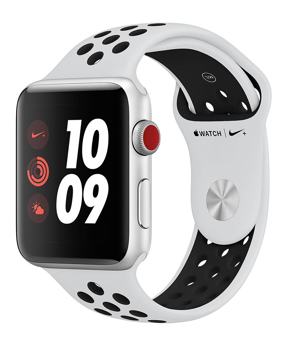 Refurbished Silver & Black Nike Sport 38mm GPS Apple Watch Nike+ Series 3