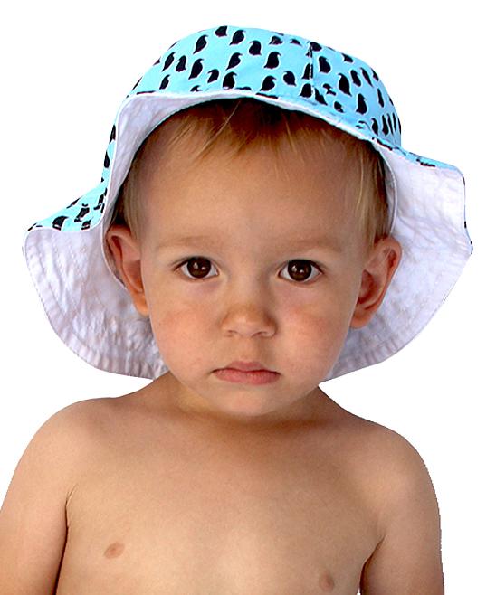03232fe61b9 ... Boys Light Blue Light Blue Penguin Bucket Hat - Alternate Image 3 ...