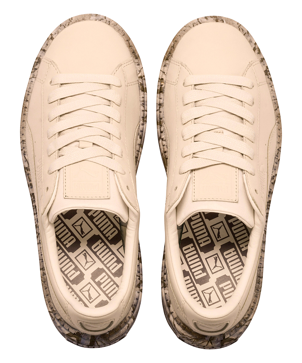 d4c801918a4 PUMA Vanilla Cream Trace Mimicry Leather Platform Sneaker - Women ...