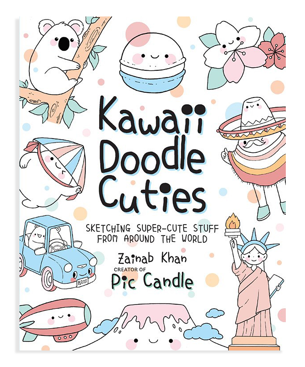 all gone. Kawaii Doodle Cuties Activity Book