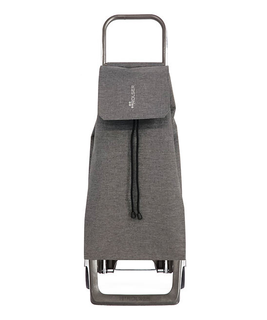Gris Jet Tweed 'Joy' Shopping Trolley Gris Jet Tweed 'Joy' Shopping Trolley. Make your next visit to the grocery store a breeze with this aluminum shopping trolley boasting two inside pockets, one back pocket and an eco-friendly way of doing your daily shopping.8'' W x 15'' H x 25'' DAluminumImported