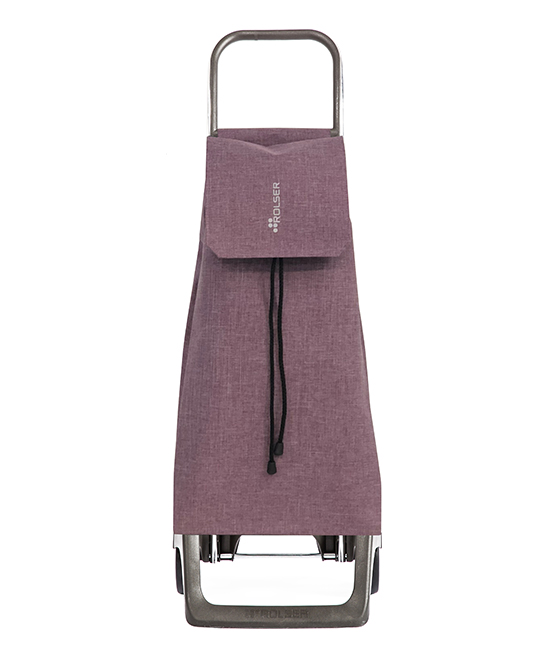 Malva Jet Tweed 'Joy' Shopping Trolley Malva Jet Tweed 'Joy' Shopping Trolley. Make your next visit to the grocery store a breeze with this aluminum shopping trolley boasting two inside pockets, one back pocket and an eco-friendly way of doing your daily shopping.8'' W x 15'' H x 25'' DAluminumImported