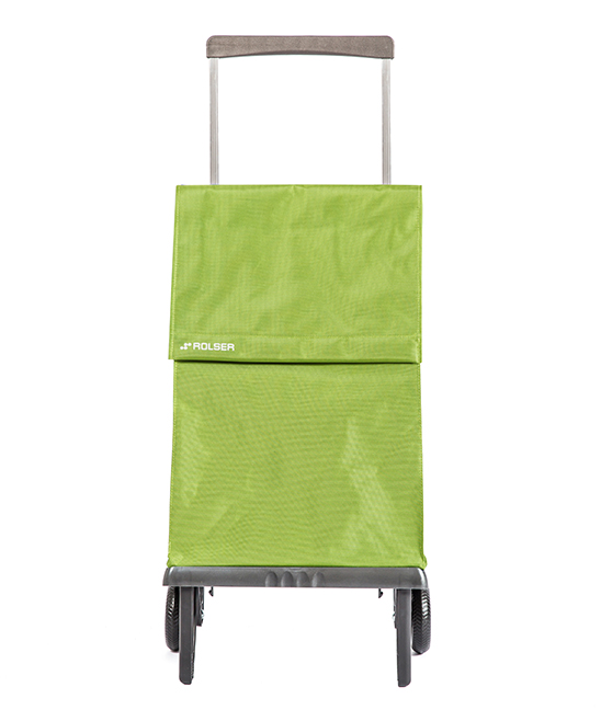 Lima OG 'Plegamatic' Shopping Trolley Lima OG 'Plegamatic' Shopping Trolley. Make your next visit to the grocery store a breeze with this aluminum shopping trolley boasting an easy-to-store foldable design and two wheels.8'' W x 15'' H x 25'' DAluminumImported