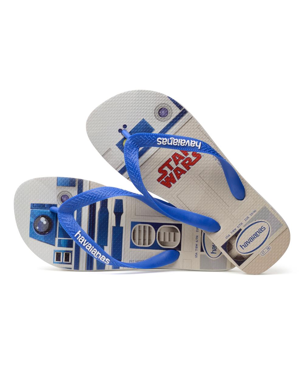 634c925c2e13c2 Havaianas White   Blue Star Star Wars Flip Flop - Men