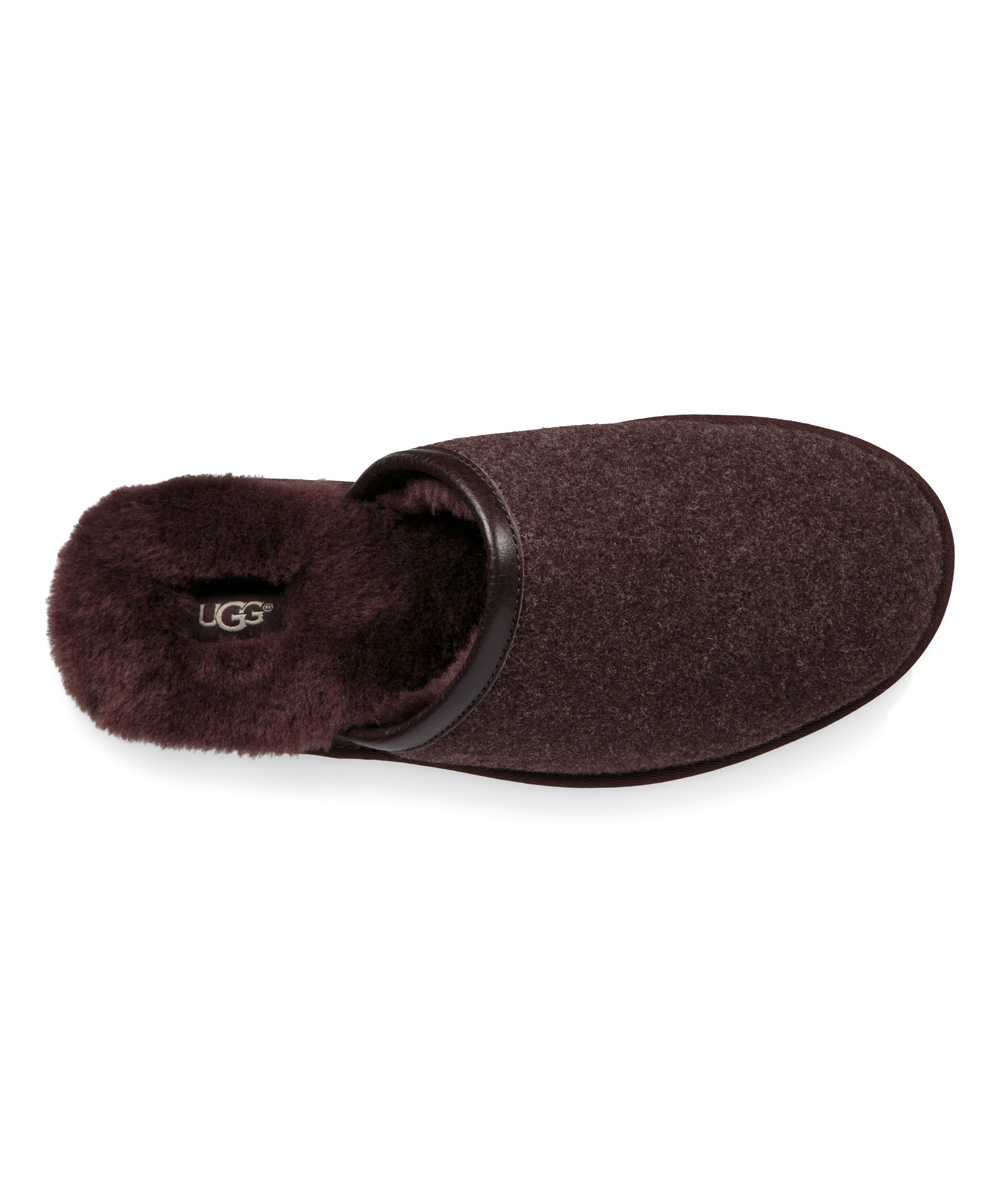 0ae2e4dbe83 UGG® Stout Scuff Novelty Leather-Lined Slippers - Men
