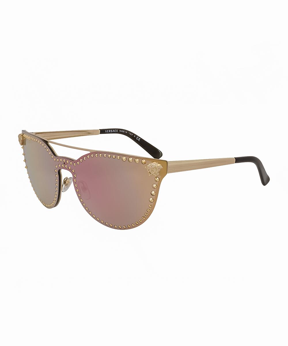 c3abef2edd all gone. Gold Modified Aviator Sunglasses