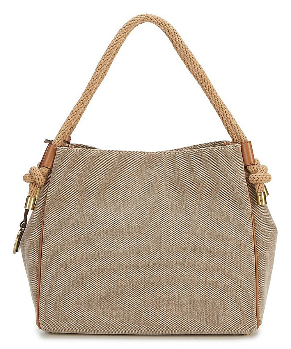 acc1bf44acc0 ... Womens Natural Isla Large Canvas Shoulder Bag - Alternate Image 2 ...