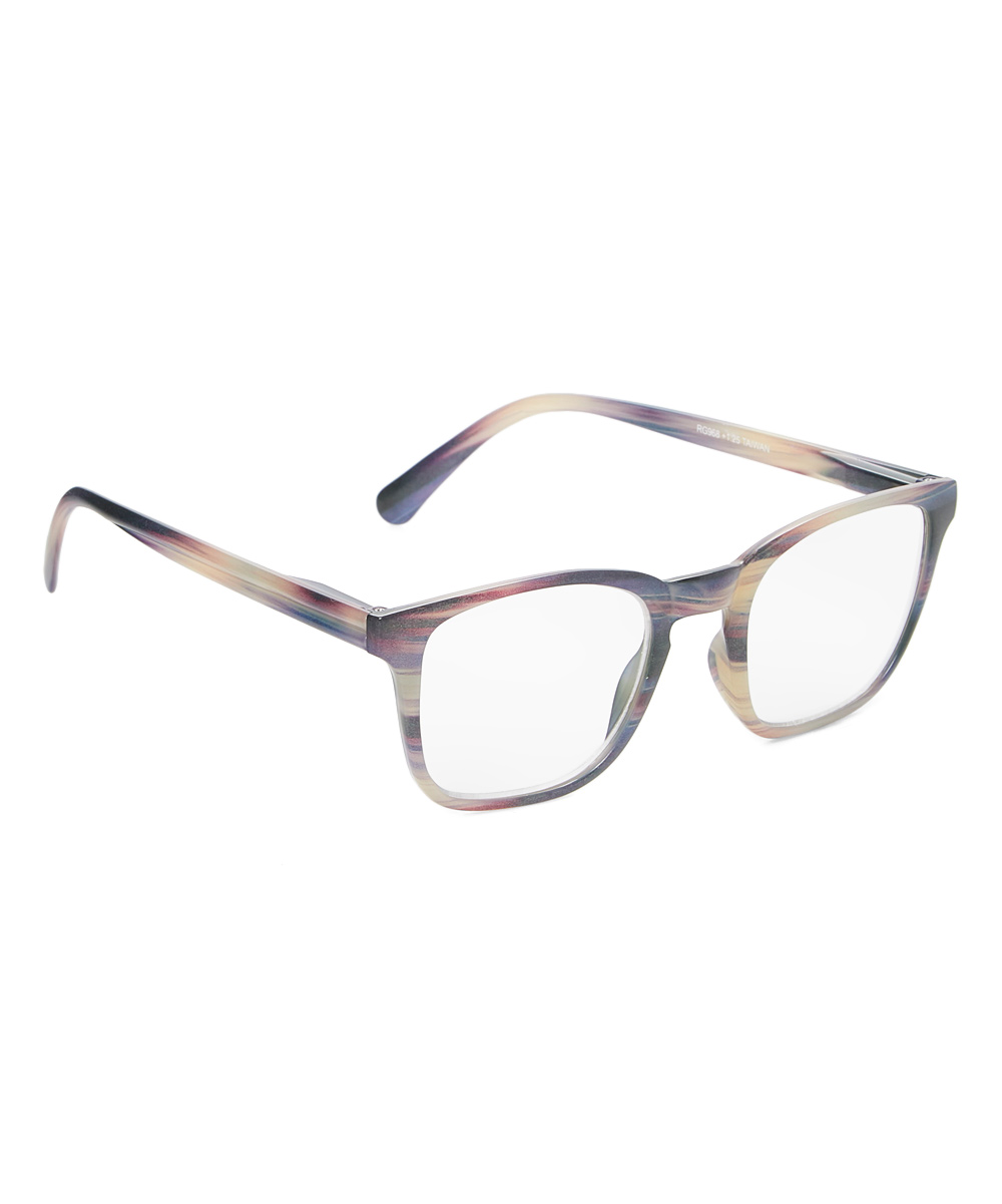 Art Wear Women's Reading Glasses Purple - Purple Tortoise Rendezvous Readers