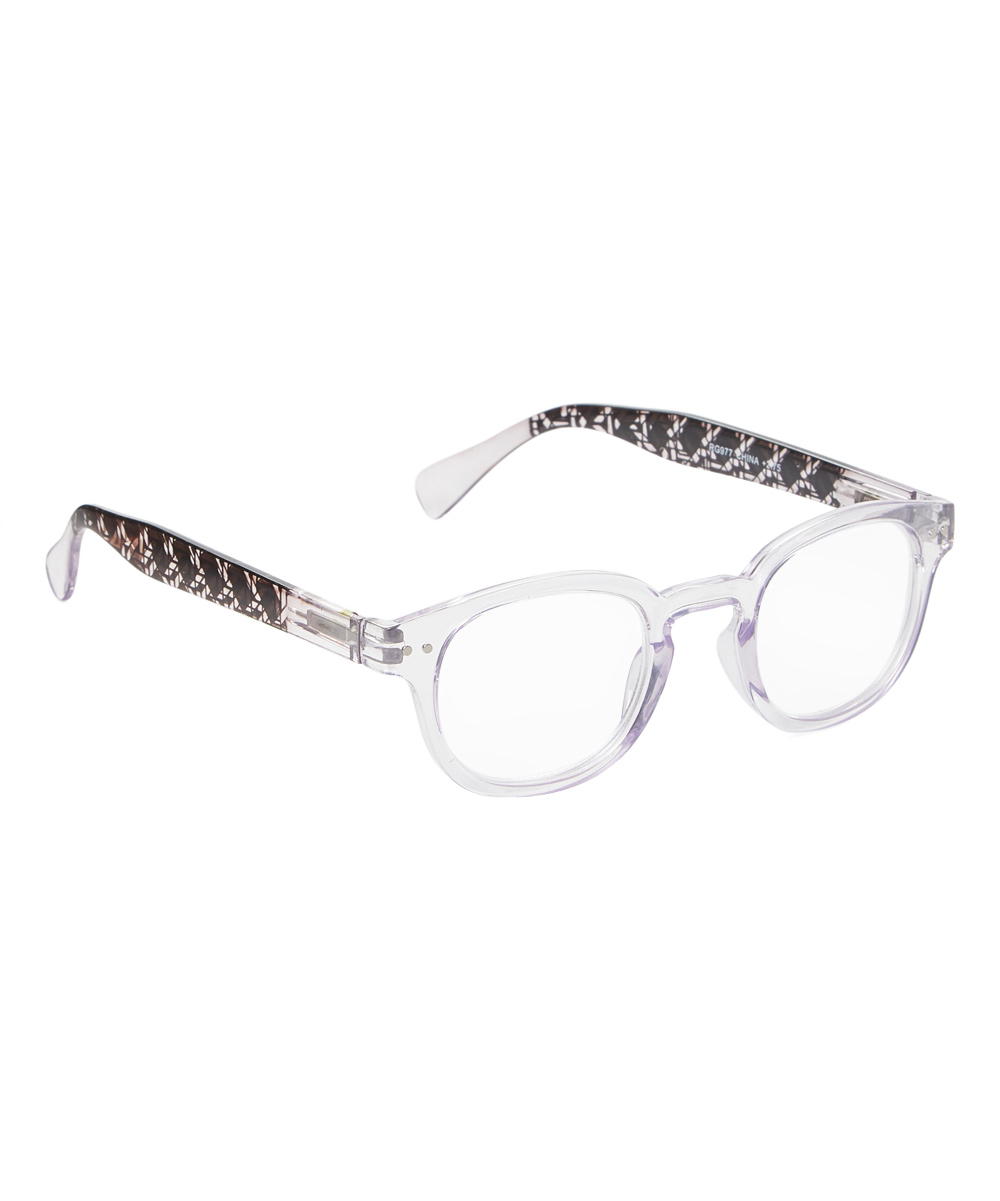 Art Wear Women's Reading Glasses Clear - Clear Blue Winsome Readers