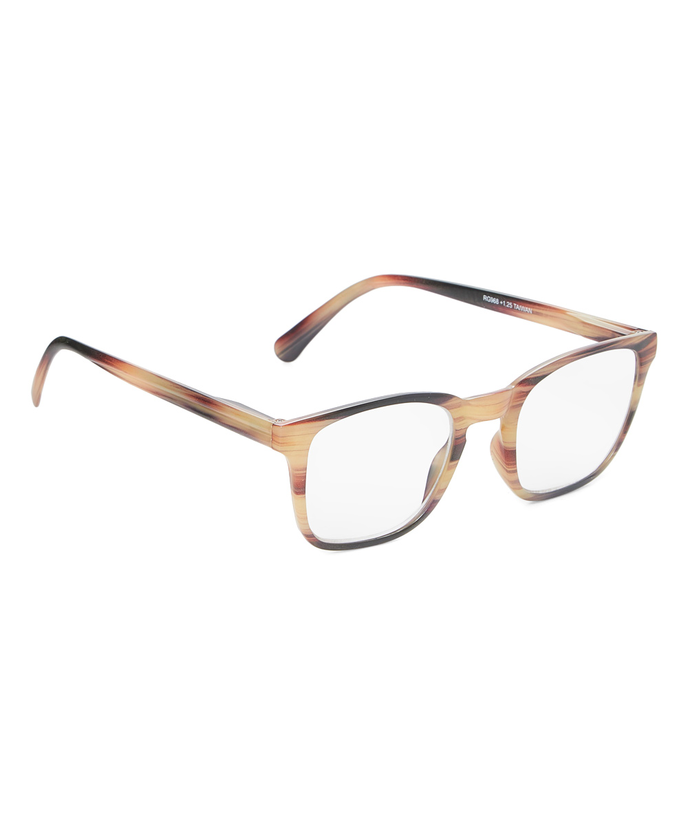 Art Wear Women's Reading Glasses Rosewood - Rosewood Tortoise Rendezvous Readers
