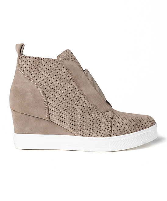 8045974e9518 CCOCCI Taupe Zoey Wedge Sneaker - Women