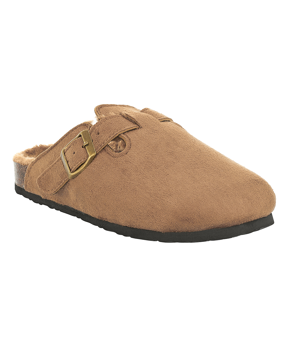 6ac0b13501a ... Womens Brown Brown Plush Indoor Outdoor Cork Slipper Clog - Alternate  Image 4