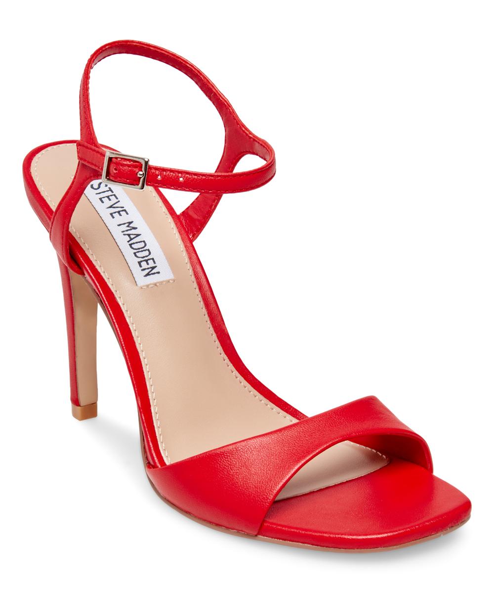 cf8e4035820 Steve Madden Red Fitz Leather Sandal - Women