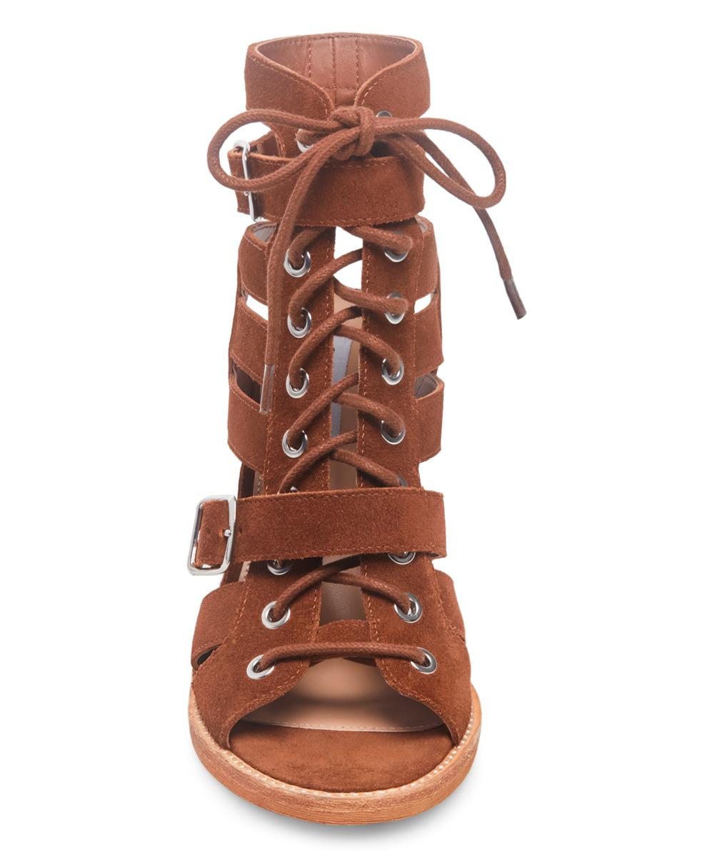 a410ddf8b9e Steve Madden Brown Cecilia Suede Ankle Sandal - Women