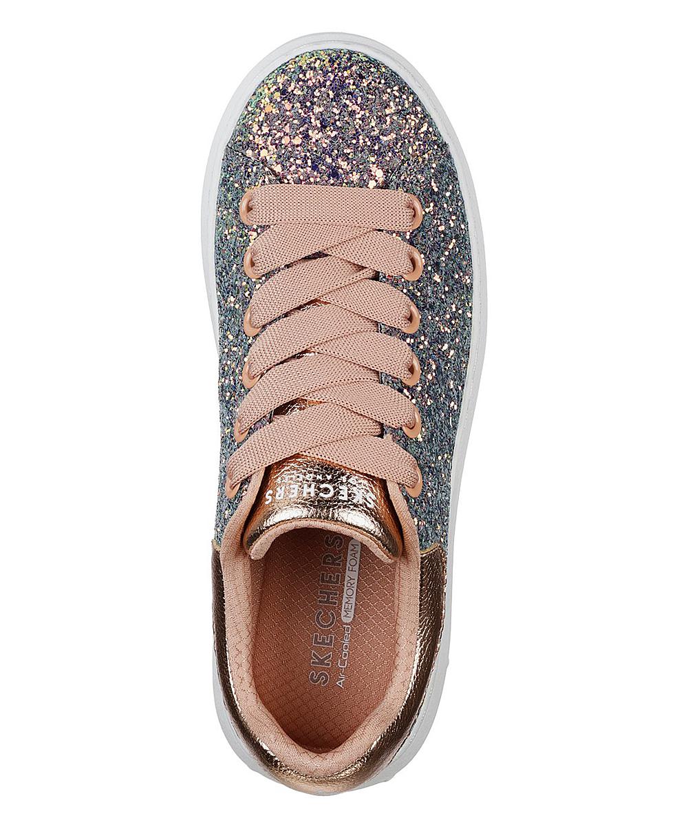 a76401490ea4 ... Womens GDMT Gold Glitter Rockers High Street Sneaker - Alternate Image  4 ...