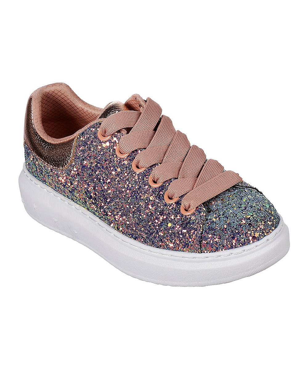 ee542baeba1d Skechers Gold Glitter Rockers High Street Sneaker - Women   Zulily
