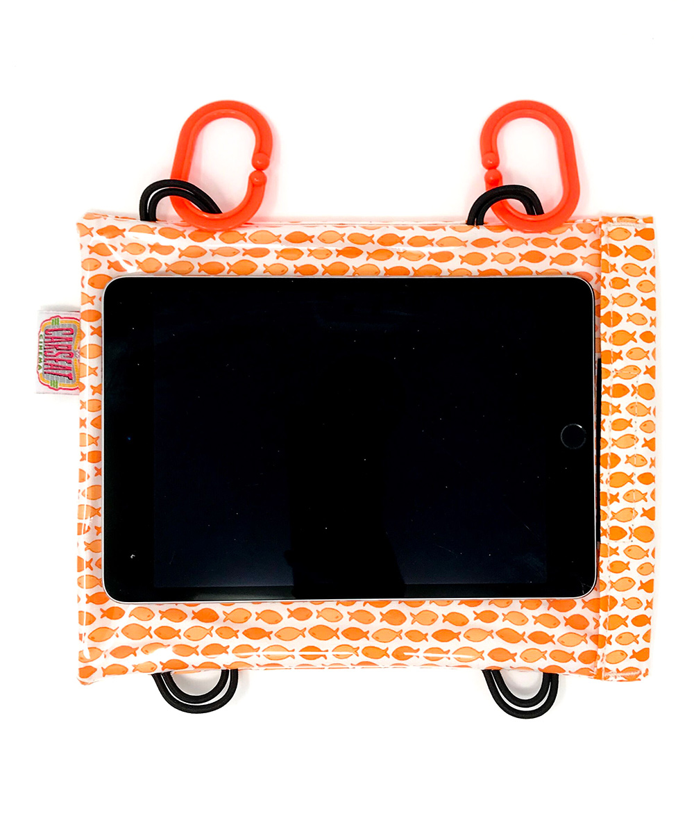 Car Seat Cinema  Tablet Computer Cases  - Orange & White Fish Case for Tablet