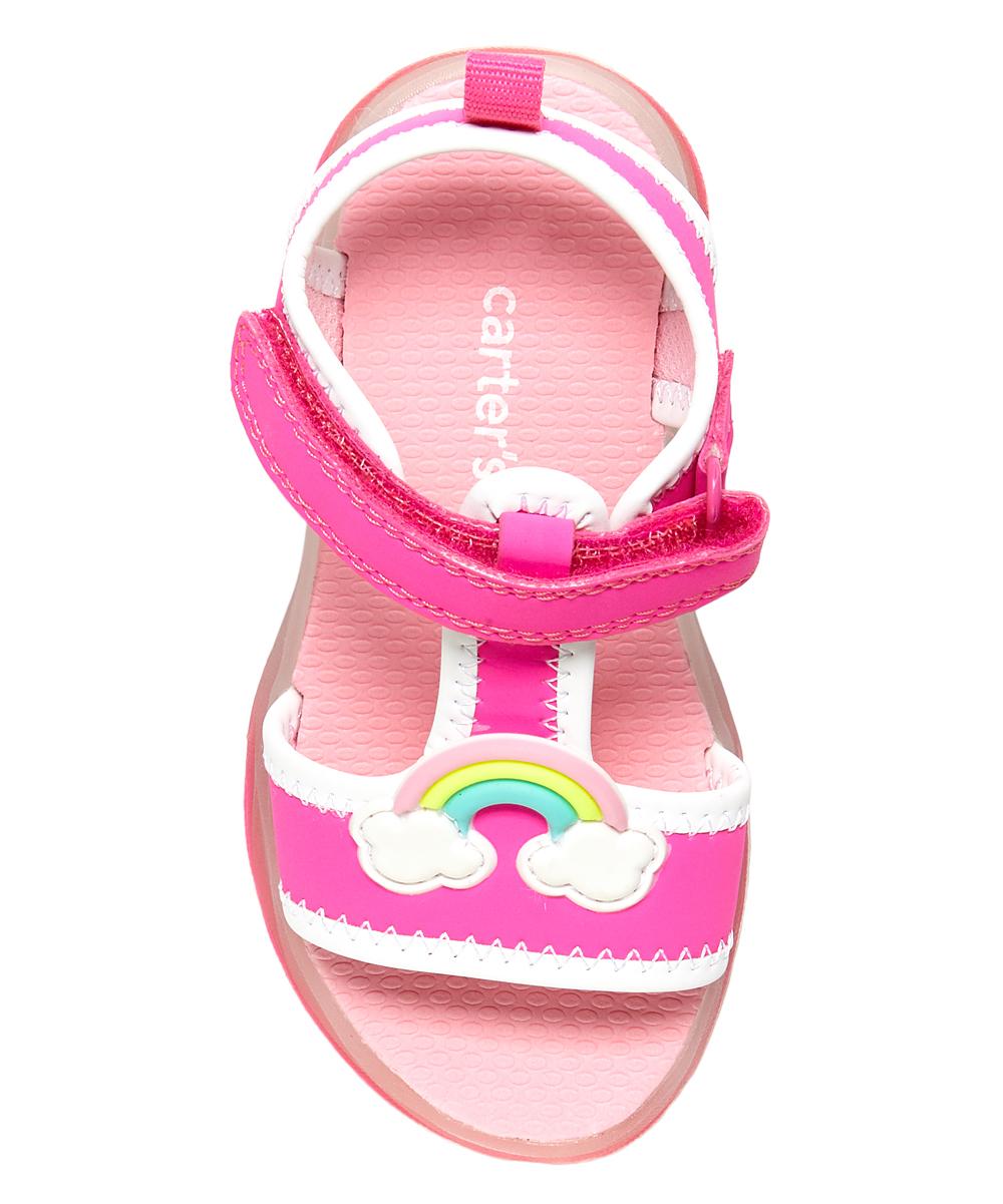 59a526d295 Carter's Pink Feline Light-Up Sandal - Girls