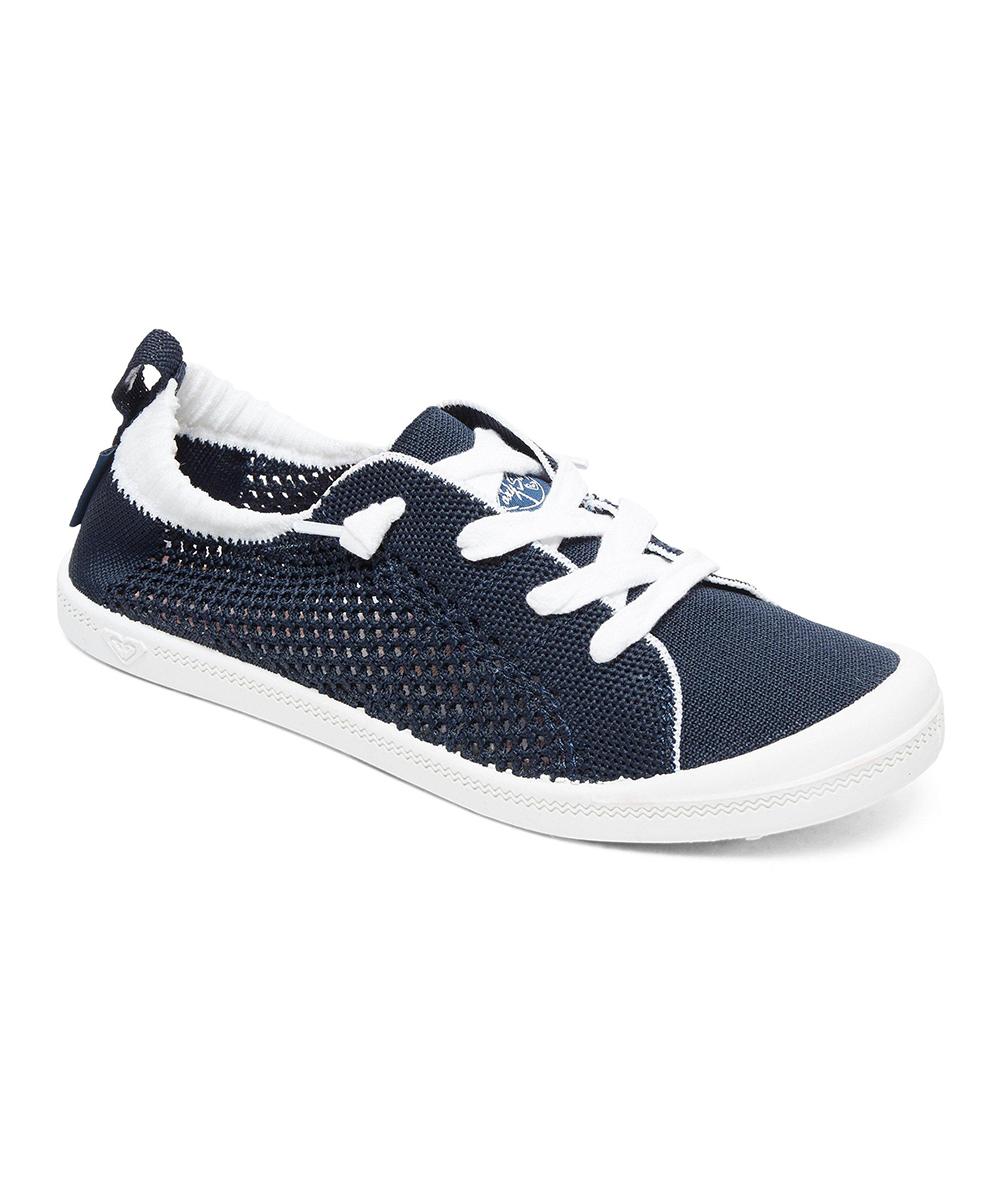d4fa5574c3e7e Roxy Navy Bayshore Knit Shoe - Women