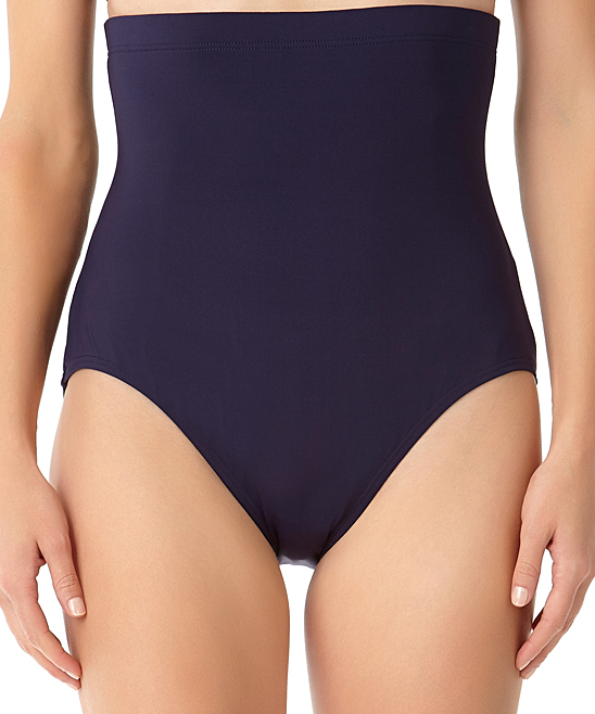 ecb973478e0 Anne Cole Navy Tummy Control Bikini Bottoms - Women | Zulily